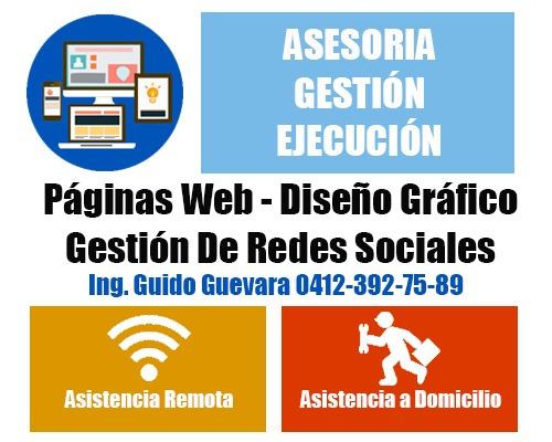 páginas web / diseño gráfico / gestión de redes sociales