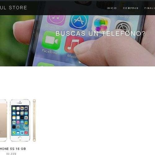 páginas web diseño logo tienda virtuales