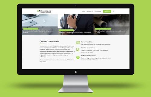 paginas web económicas y profesionales  todo incluido