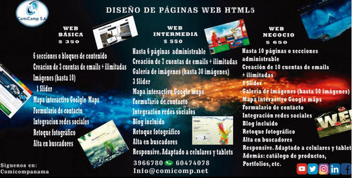 paginas web, marketing digital