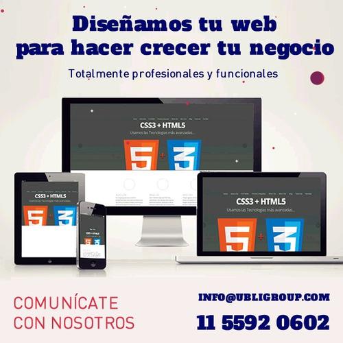 paginas web para emprendimientos plantillas logos banners