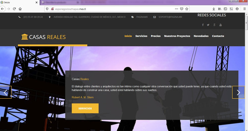 paginas web  profesionales economicas