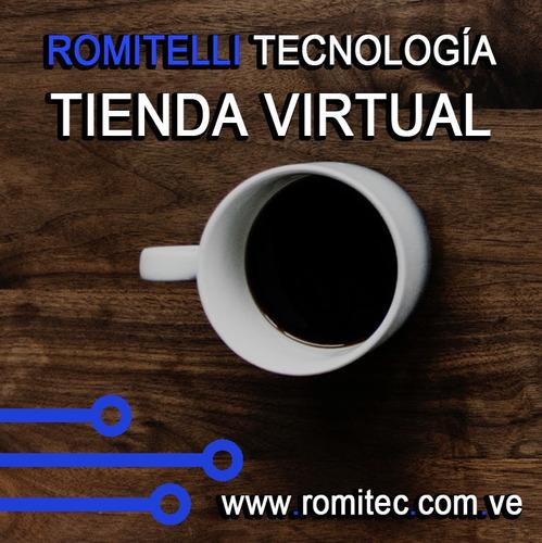 páginas web tienda  en linea autoadministrable + email