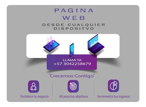 paginas web / tienda online / apps / sitio web