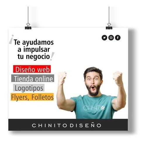 paginas web, tienda online, logos, folletos. diseño grafico