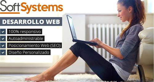 páginas web - tienda virtual - responsiva - administrable
