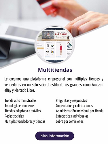 paginas web, tiendas virtuales, aplicaciones móviles, tdc