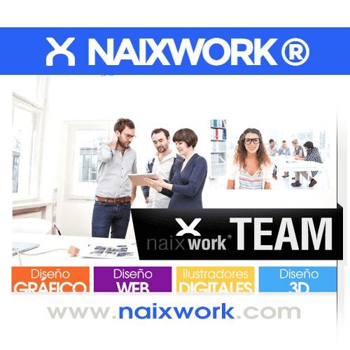 paginas web  web diseño logo facebook sitio web carrito naix