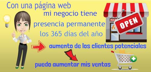 paginas web y desarrollo sistemas web a medida, promoción!!