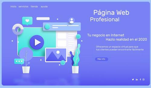 páginas web y marketing