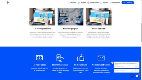 paginas webs - desarrollo diseño web profesional y elegante