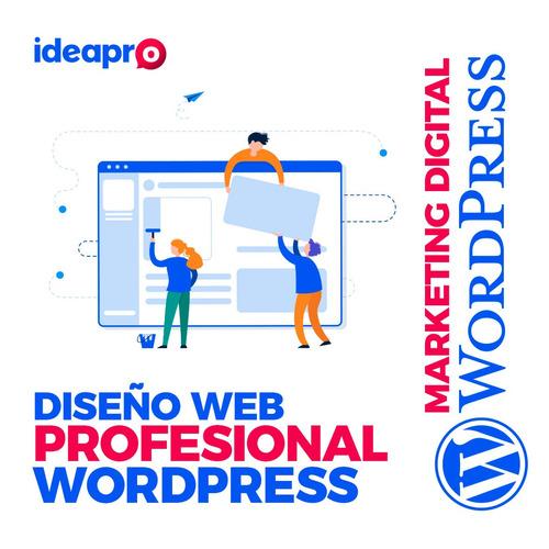 páginas wordpress | páginas web wordpress autoadministrables