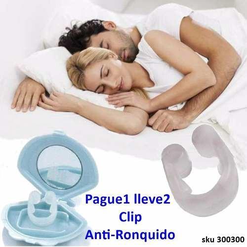 pague1 lleve2 clip antironquido suave antialergico - w01
