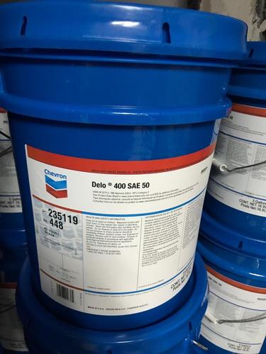 paila aceite maxi diesel chevron sae 50, 19 litros sellada