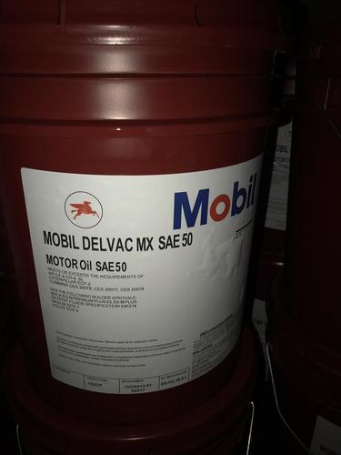 paila aceite maxi diesel sae 50, mobil, 19 litros, sellada