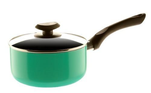paila c/tapa 18 cm colore verde - mageflón