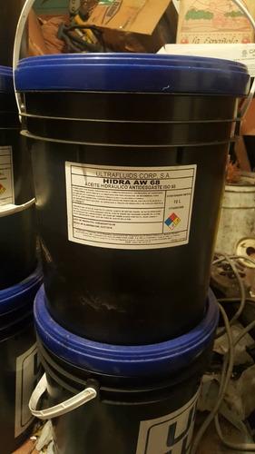 paila  de aceite hidraulico aw-68 ultra lub sellada 90 vrds