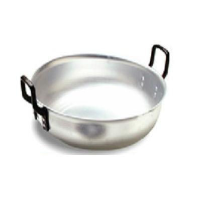 paila gigante redonda bordeada aluminio cocina n.-50