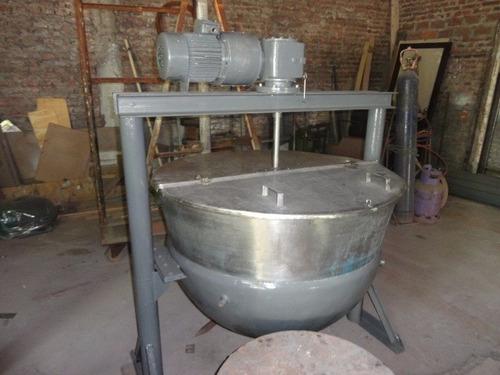 paila industrial de acero inoxidable encamisada liquido!!