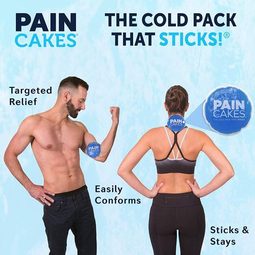paincakes la compresa fría que se pega y permanece en el lug