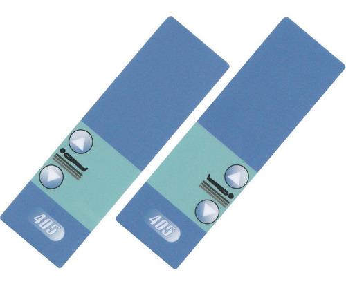 painéis conjunto cama hospitalar hill rom hr 405 - 2 botões