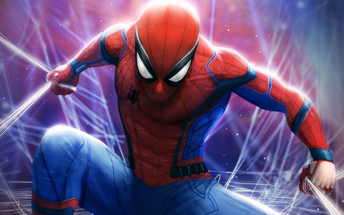 Painel Adesivo Decorativo Herois Marvel Homem Aranha Desenho R