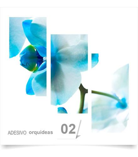 painel adesivo parede decorativo flores orquidea 02