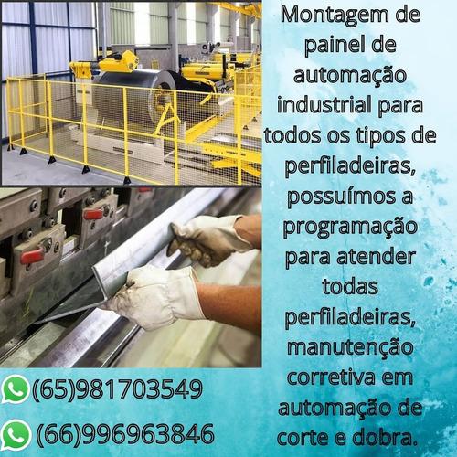 painel automação industrial...