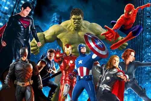 painel banner  festa 2,0 x 1,0  vingadores super herois
