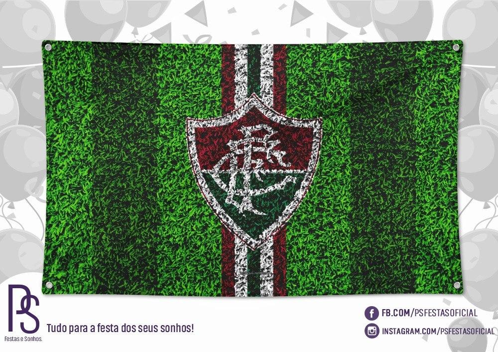 2de992acc Painel Banner Tecido Fluminense 1,40 X 0,90 #1 - R$ 62,81 em Mercado Livre