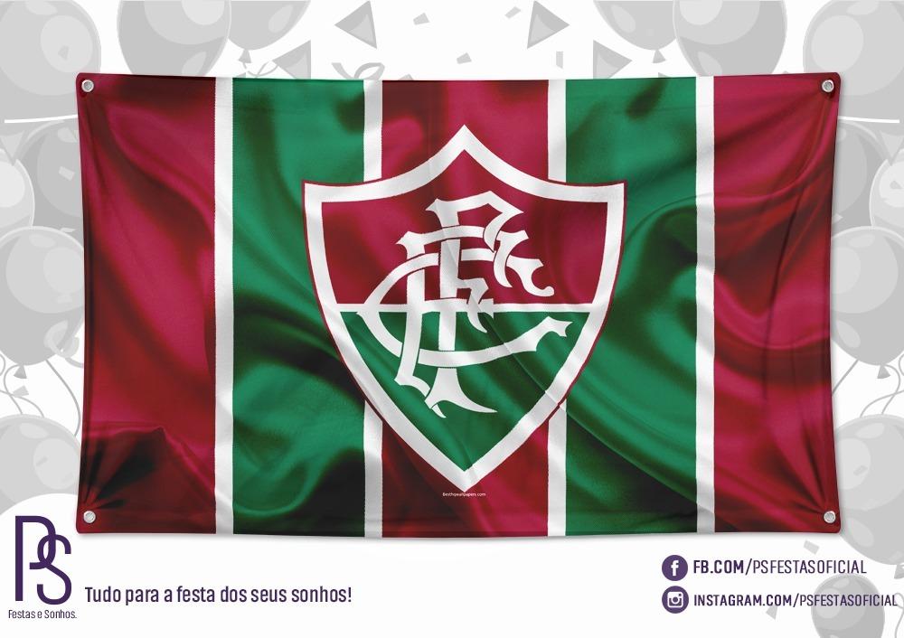 a248c7962 Painel Banner Tecido Fluminense 1,40 X 0,90 #2 - R$ 62,81 em Mercado Livre