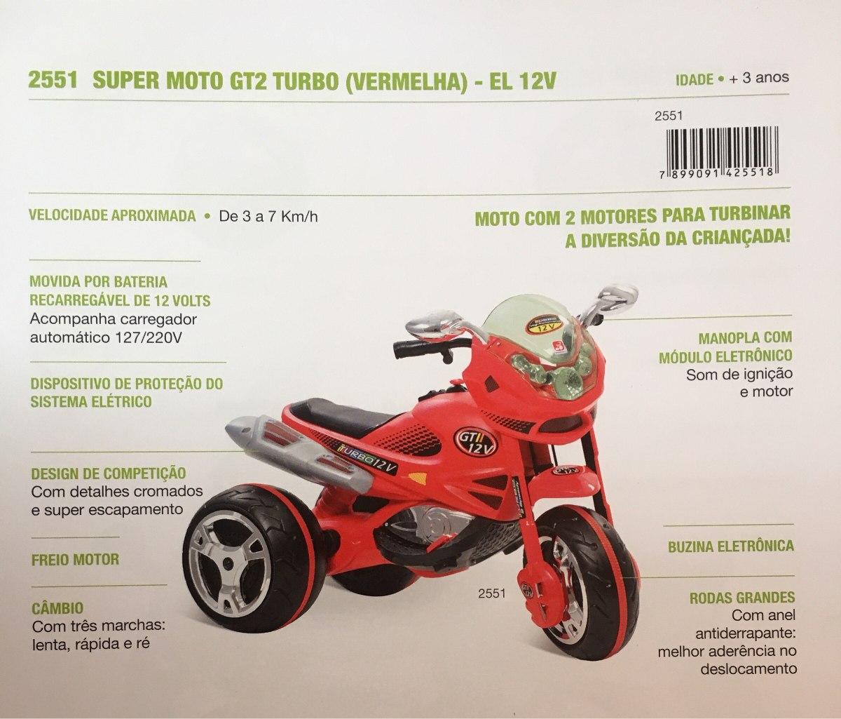 10ca2991ba9 Painel C  Botões ( Moto Eletrica Gt2 Turbo 12v Bandeirantes) - R ...