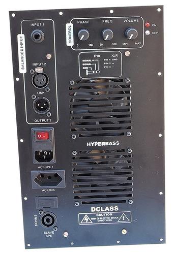 painel caixas acústicas sub graves 1500 watts rms reais