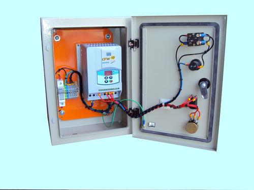 painel com inversor controlar velocidade de motor 2cv 220v