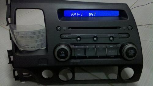 painel com rádio e cd player para o new civic 2007...