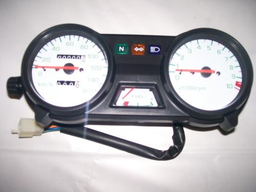 painel completo velocímetro conta-giros honda cbx 200 strada