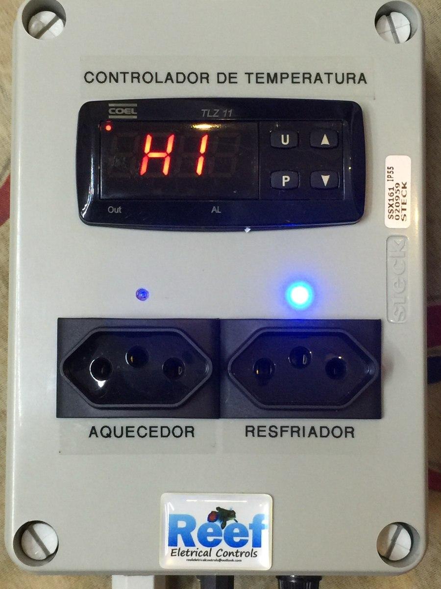 controlador de temperatura de aquário