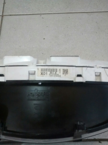 painel da tucson com marcador de temperatura c/ 3 plug