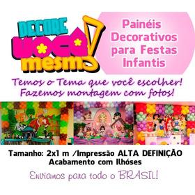 Painel De Aniversário - Festas Infatil - Banner Fotografico
