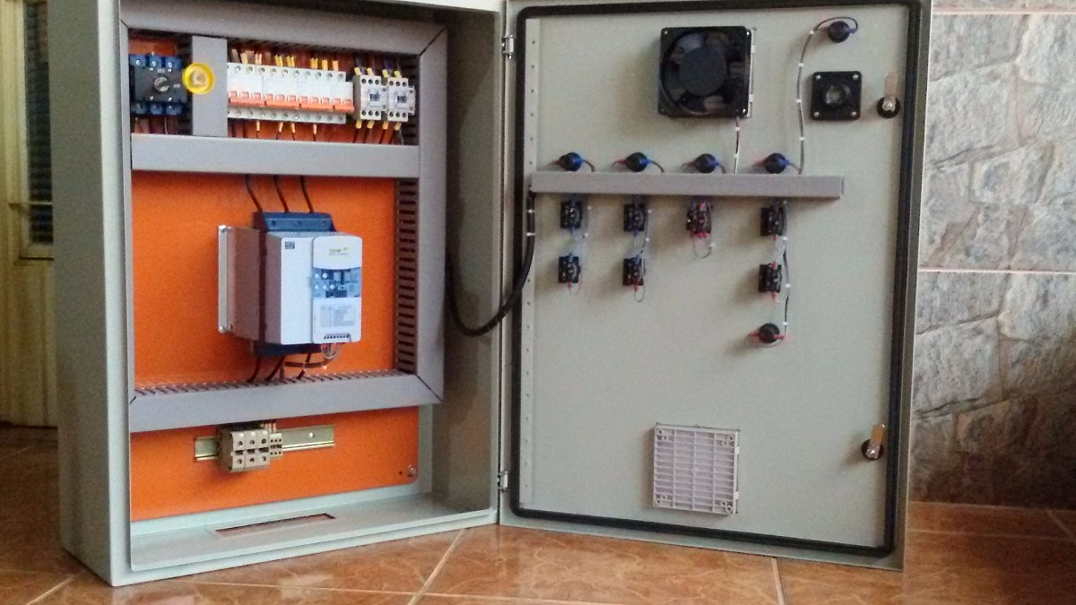 painel de comando para bomba de inc u00eandio 15cv softstarter