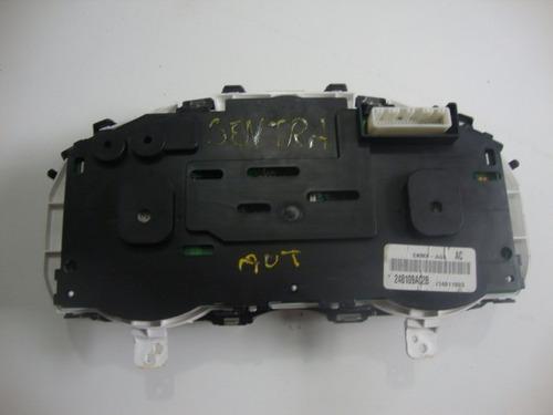 painel de instrumento do nissan sentra automatico  2012