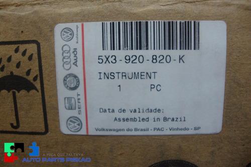 painel de instrumento original vw gol saveiro 5x3920820k