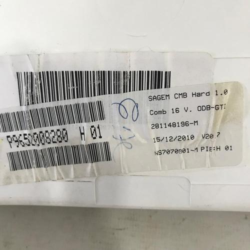 painel de instrumentos citroen c3 281148196 original com nota fiscal e garantia