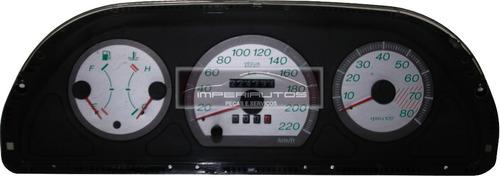 painel de instrumentos palio siena conta giros rpm prata