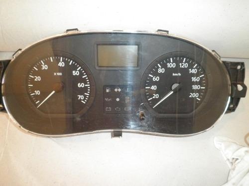 painel de instrumentos velocimetro clio logan sandero 1 plug