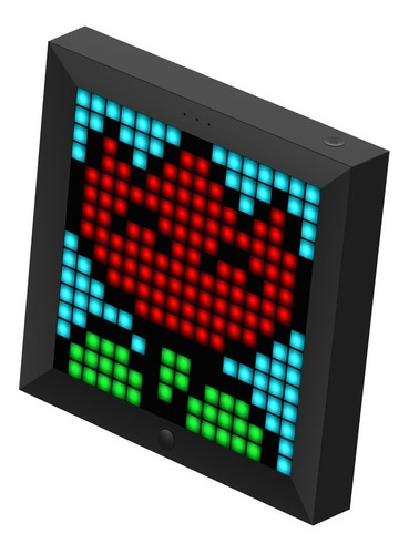 painel de led inteligente smart pixel divoom pixoo rgb preto