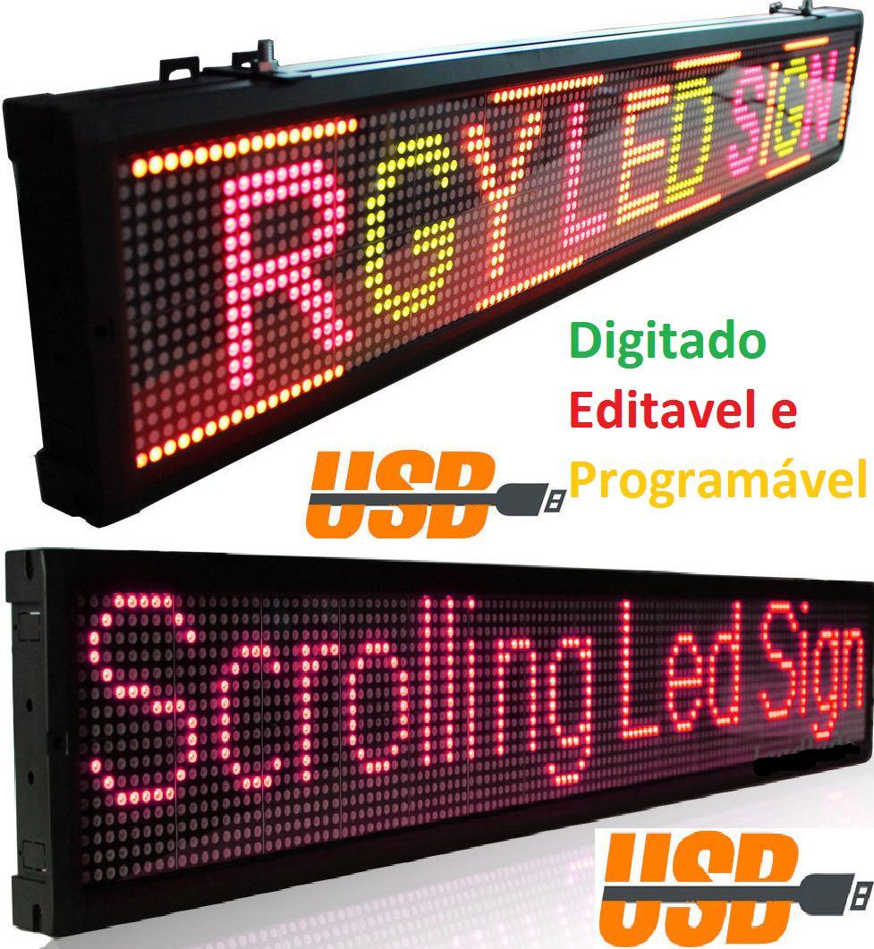 Painel De Led, Letreiro Digital Luminoso Caminhão, Onibus