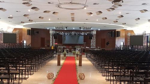 painel de led / som/ iluminação locamos para seu evento