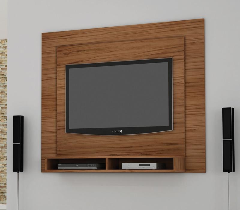 Altura Padrao De Tv Na Parede Sala ~ Painel De Parede Aero 1,60m P Tv Bancada Suspensa + Suporte  R$ 289