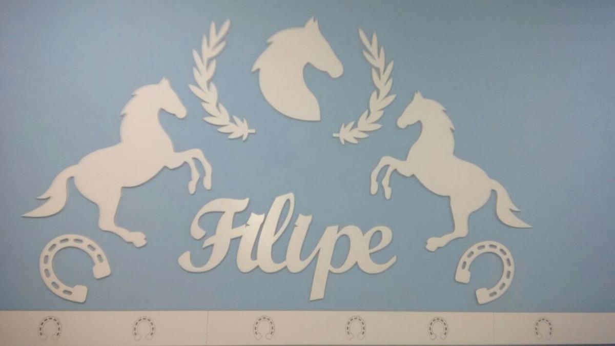 61fd60217 painel de parede completo mdf branco cavalos country. Carregando zoom.